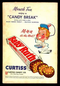 1960 Curtiss Candy Company Ad Quot Nuggets And Chips