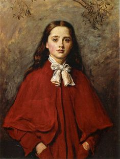 classicwood:  BrightEyes by John Everett Millais