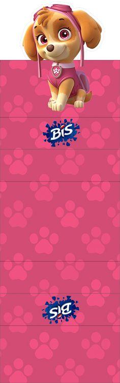 Bis Duplo 3D Patrulha Canina para Meninas