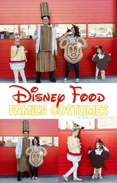 Disney Food Family Costume
