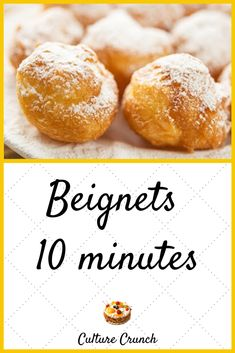 Beignets, Hamburger Buns, Food Cravings, Cookie Dough, Good Food, Brunch, Food And Drink, Cooking Recipes, Bread