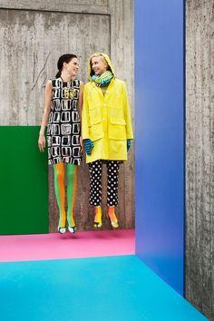 Marimekko Cozy Fashion, Colorful Fashion, High Fashion, Catwalk Fashion, Fashion Models, Cool Outfits, Casual Outfits, Fashion Outfits, Marimekko Dress