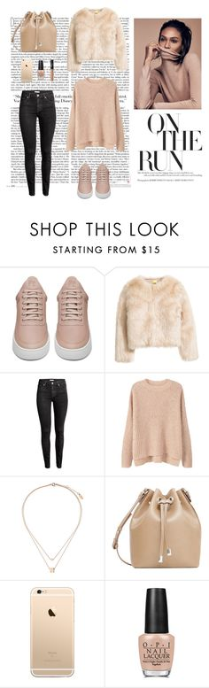 """09/11"" by dorey on Polyvore featuring Filling Pieces, H&M, MANGO, Topshop, OPI and NARS Cosmetics"