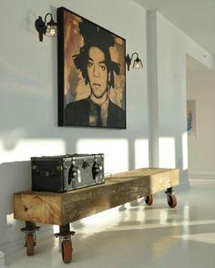 DIY Sidetable #designs #desing #artwork #art #diy #kunst #kunstwerk #styling #stylish #styles #style #furnituredesign #furniture #stijl #meubel #meubels #woodart #wood #hout #sidetable #interiordesign #interior #interieur #lamp by friesch_hout