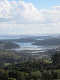 Trig Hill View Waiheke Island, Most Favorite, Beautiful Beaches, Scenery, River, World, Places, Outdoor, Outdoors