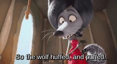 """She's good at retelling classic fairytales. 