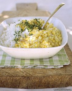Summer Corn and Rice Pilaf Recipe