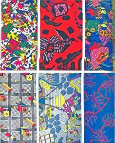 Nathalie du Pasquier Pattern Art, Pattern Design, Art Patterns, Nathalie Du Pasquier, Memphis Milano, 1980s Design, Memphis Design, Postmodernism, Retro Vintage