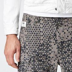 G-Star RAW   Hombres   Bermudas   Rovic Camo Bermuda Shorts , Gs Grey