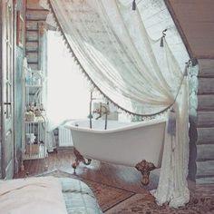 Boho-tastic — Dream bathroom  Source: pinterest.com #bathroom...