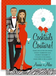Cocktails & Couture African American