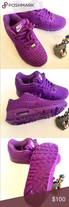 Women's Purple Nike air max 90 Women's Purple Nike air max 90 Nike Shoes Athletic Shoes