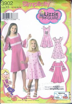 Fit And Flare, Little Girl Dresses, Girls Dresses, Karen, Simplicity Sewing Patterns, Types Of Dresses, Dress Patterns, Clothing Patterns, Flare Dress