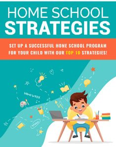 Home School Strategies (ebook-pdf plr file) Can be sold Learning Spaces, Learning Tools, Computer Programming, Home Schooling, Feeling Overwhelmed, Online Work, School Teacher, Teacher Newsletter, Ebook Pdf