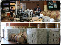 Bottling Cantamerli wine 2011: 60% Barbera 40% Cabernet