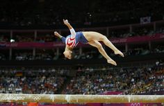 Gymnastics: Event Finals - Alexandra Raisman on balance beam - final - day 11