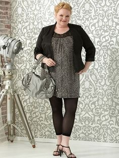 """Best leggings!  """"When purchasing plus size leggings you need to pay special attention to the quality and the opaqueness of the fabric,"""" says Become Gorgeous. """"Choose plus size leggings in dark, neutral colors, which you can match to the dress, skirt, or long tunic under which you wear them."""""""