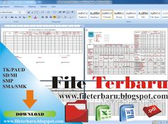 Download Format Daftar 1 Format Word Gratis 2016 Microsoft Excel, Diy And Crafts, Education, Words, School, Places, Onderwijs, Learning, Horse
