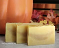 How To Make Pumpkin Soap