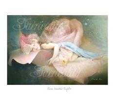 Shabby Chic Fairy art print   ' Rose by CharlotteBirdfairies, $32.00