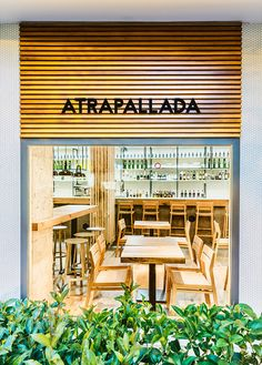 View the full picture gallery of Atrapallada Restaurant Restaurant Pictures, Bar Design Awards, Restaurant Bar, Furniture Design, Wooden Furniture, Bathroom Furniture, Coffee Shop, Architecture Design, Gallery
