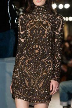 Emilio Pucci ready to wear fall/winter 2014 -15 details, Milan fashion week