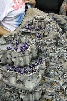 Istavaan V. Warhammer Terrain, 40k Terrain, Game Terrain, Wargaming Terrain, Warhammer Tabletop, Warhammer Models, Warhammer Fantasy, Space Fantasy, Warhammer 40000