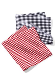 Gifts for Dads- There's nothing more chivalrous than a man with a hanky to share. Handkerchiefs, $30 for set of 2; bittleandburley.com. Click through to redbookmag.com for more affordable gift ideas that won't break your bank.