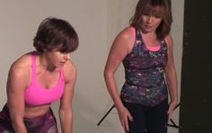 Lorraine Kelly's fitness instructor, Maxine Jones, shows us the four killers moves that helped Lorraine drop TWO dress sizes - fast!