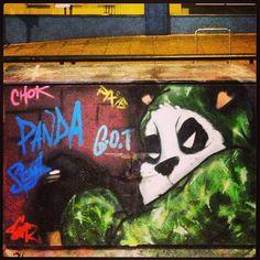 Brighton badass panda | A CHAO DESIGN travels #mimpilivelove