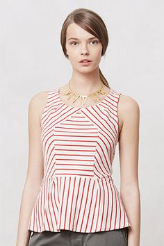 Breezy Peplum Pieces That Will Carry You Right Into Fall