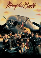 """Memphis Belle"" (1944) ~ This documentary centers on the crew of the B-17 Flying Fortress Memphis Belle as it prepares to execute a strategic bombing mission over Germany."