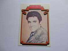 #7 of 66 Elvis Presley Facts Card Collection