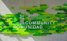 Multilingual, Color harmony, signage