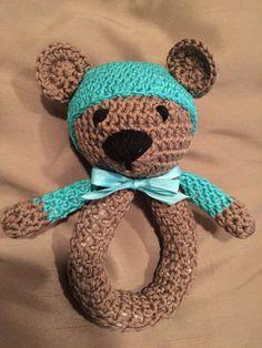 Crochet teddy bear for new born Crochet Teddy, Crocheting, Teddy Bear, Toys, Animals, Crochet, Activity Toys, Animales, Animaux