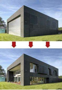 Zombie-Proof Concrete Home
