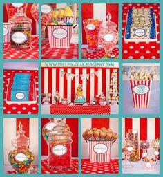 Full P: El Circo Llegó a la Ciudad - Candy Bar