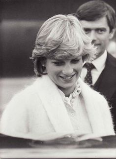 February 27, 1982: Princess Diana at Heathrow Airport from the ten-day holiday in Windermere island, Bahamas.