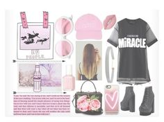 """""""Pink Pink Pink"""" by adnqmu on Polyvore featuring mode, RE/DONE, Chicnova Fashion, Dolce&Gabbana, Casetify, ZeroUV, Nasaseasons, Lime Crime, Humble Chic en Jeffrey Campbell"""