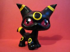 Umbreon Pokemon Littlest Pet Shop custom