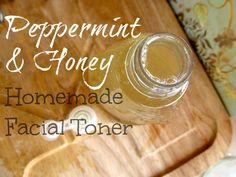 Peppermint And Honey Facial Toner - MommypotamusMommypotamus |