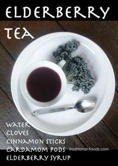 Elderberry Tea for Immune Support