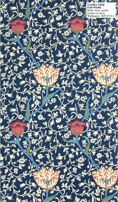 Historic Style - Garden Tulip by William Morris