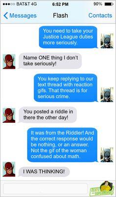 Ant Man Avengers, Avengers Texts, Dc Comics Funny, Superhero Texts, Comic Text, Superman And Spiderman, Stand Up Comedians, Dc Memes, Marvel Jokes