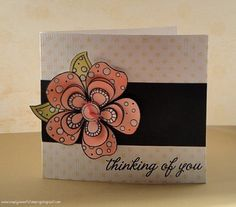 Thinking of you flower by luv2scrapnat (Natalie), via Flickr
