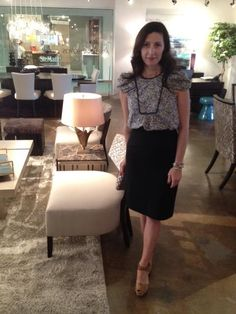"""""""Turning Inspirations into Attractions"""" event with Arteriors Home Designer Laura Kirar at the ADRIANA HOYOS showroom in the Throughout The World, Showroom, Turning, Furniture Design, Warm, Contemporary, Interior, Inspiration, Home"""