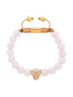 Nialaya Bracelet Panther with Clear CZ | Nialaya Jewelry