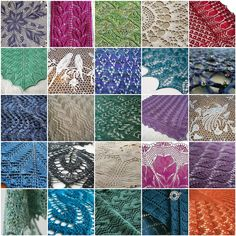 Things I love -- Handknit Lace | 1. Frosted Fern 3, 2. Liese… | Flickr - Photo Sharing!