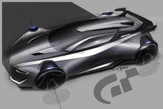 Vision Gran Turismo es un proyecto revolucionario diseñado para los amantes de los coches de todo el mundo. El coche    SUBARO..