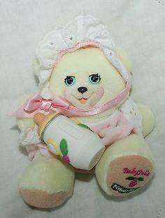 #TeddyBears #Teddy #Bears 1999 Fisher Price Briarberry Collection Baby Julie Teddy Bear Baby Sister Plush #TeddyBears #Teddy #Bears